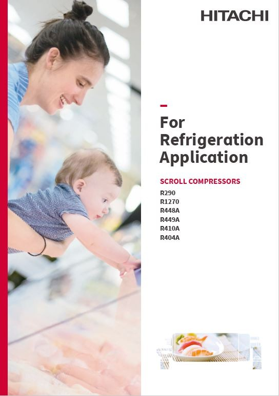 Catalog - Scroll Compressor for Refrigeration applications