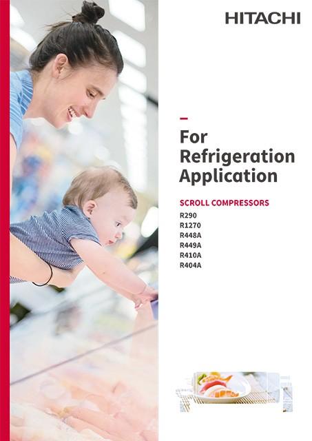 Catalog - Scroll Compressor for Refrigeration applications