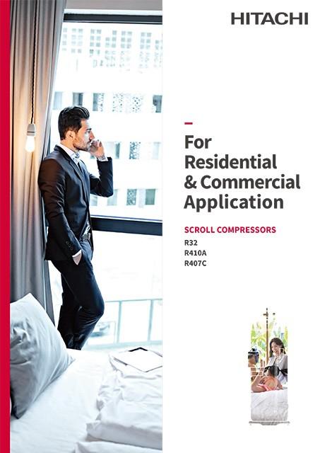 Catalog - Scroll Compressor for Residential & Commercial AC (R32/R410A/R407C)