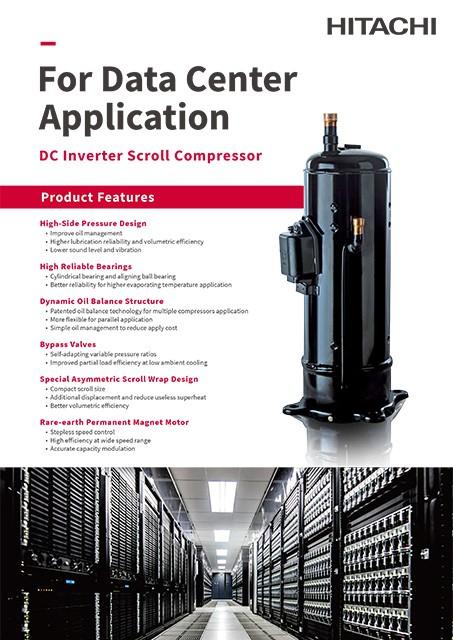 Catalog - Scroll Compressor for Data Center Application