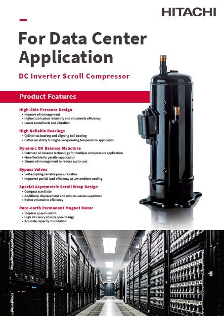 Catalog - Scroll Compressor for Data Center Application