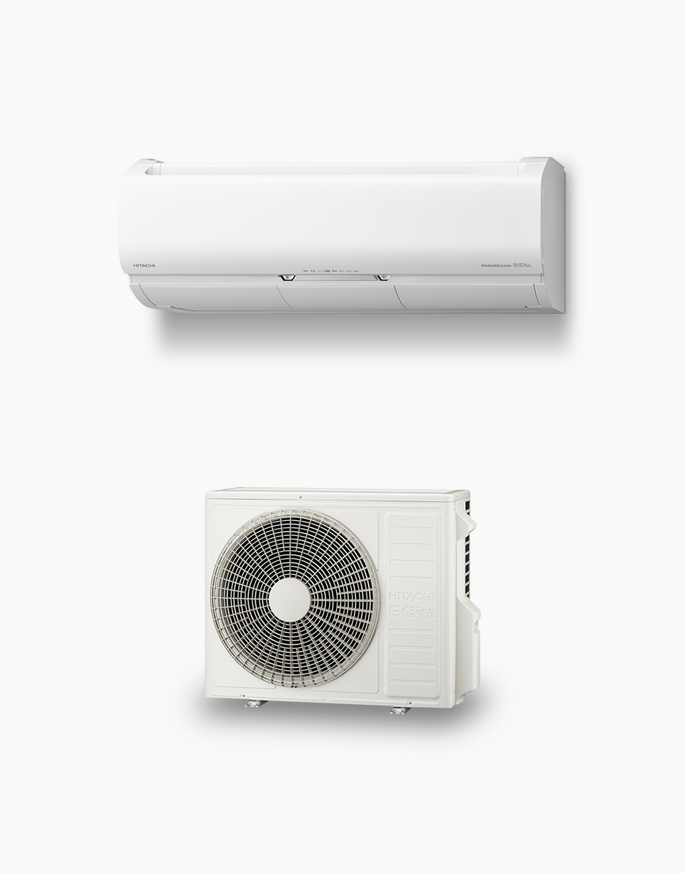 Hitachi room air conditioner premium X series 2020 models for Japan