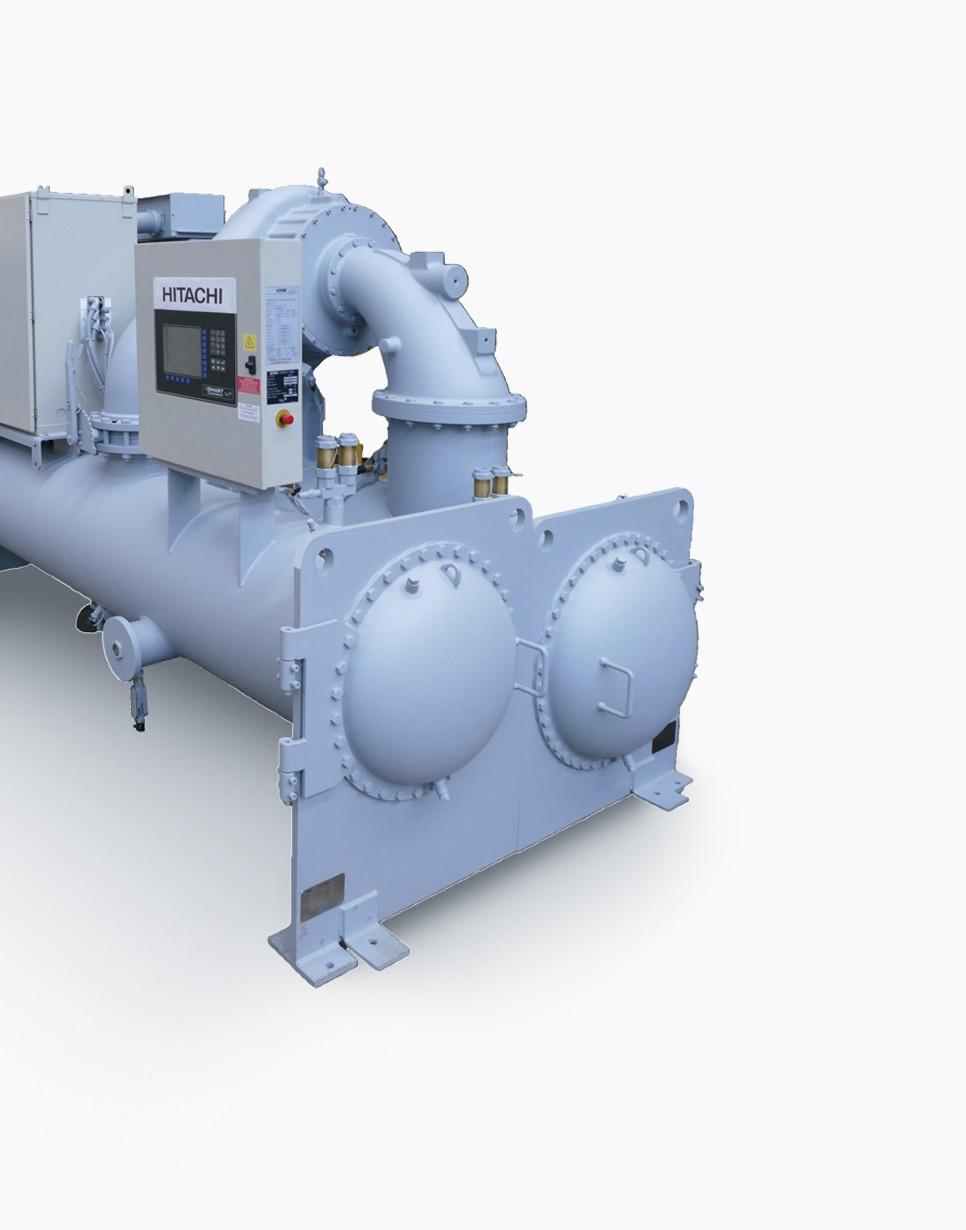 磁気軸受高効率インバータ制御ターボ冷凍機